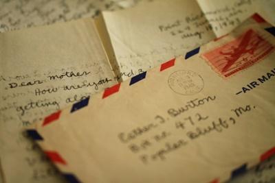 元カレから手紙がきた